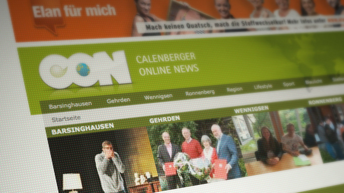 Webdesign Calenberger Online News