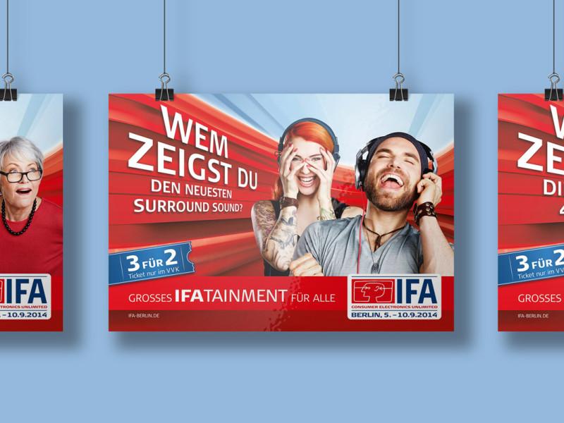 Gesamtansicht IFA Plakat