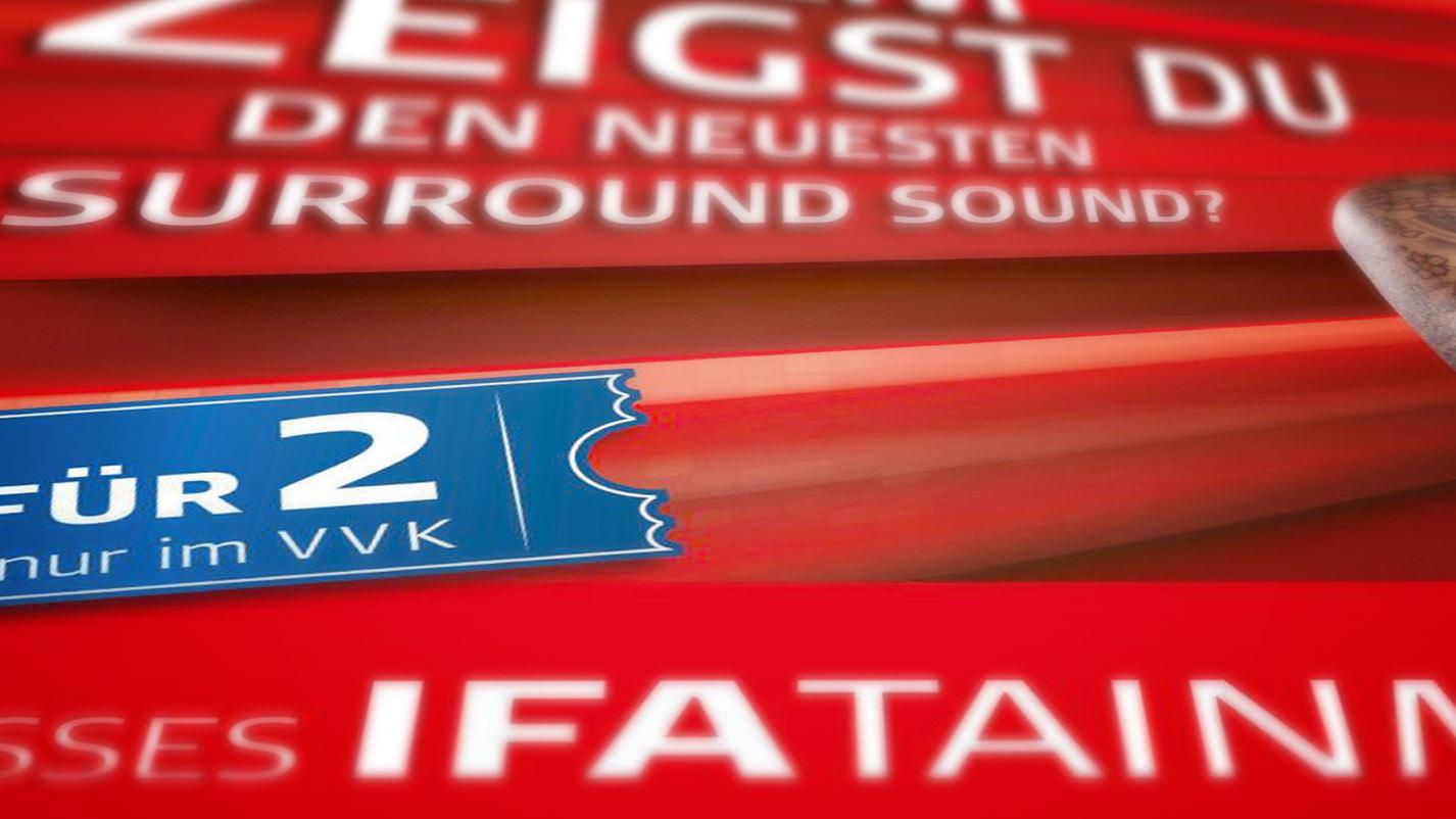 Detailansicht Plakat IFA