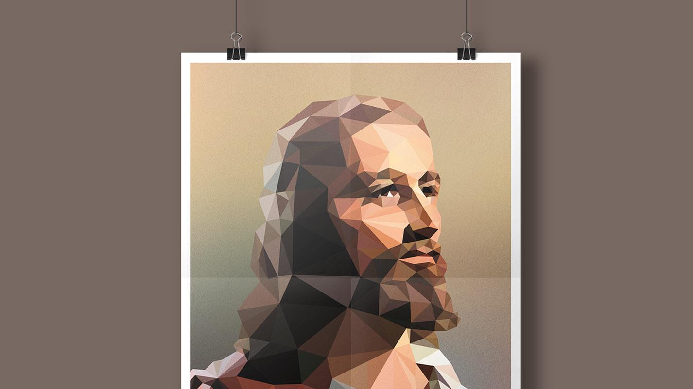 Gesamtansicht Jesus