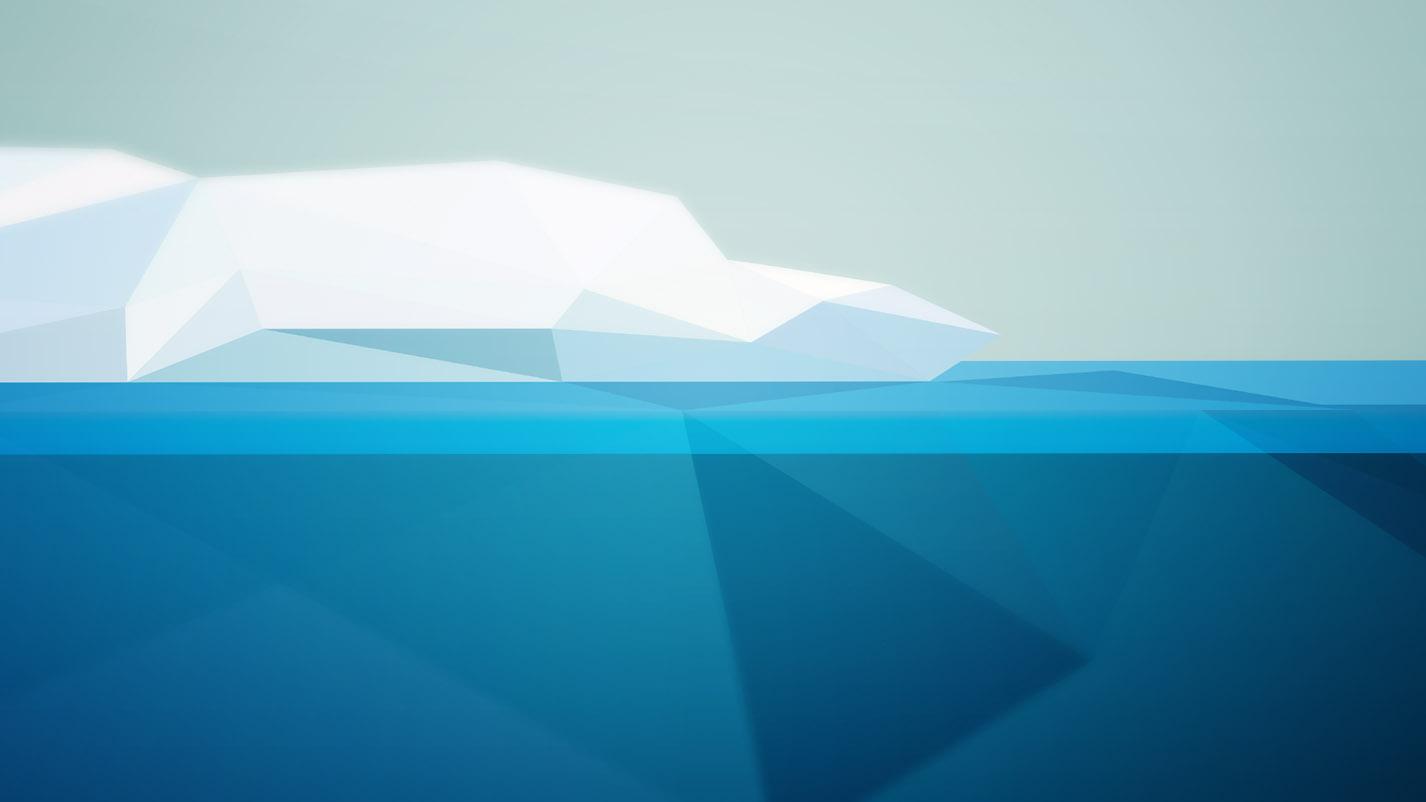 Detailansicht Iceberg