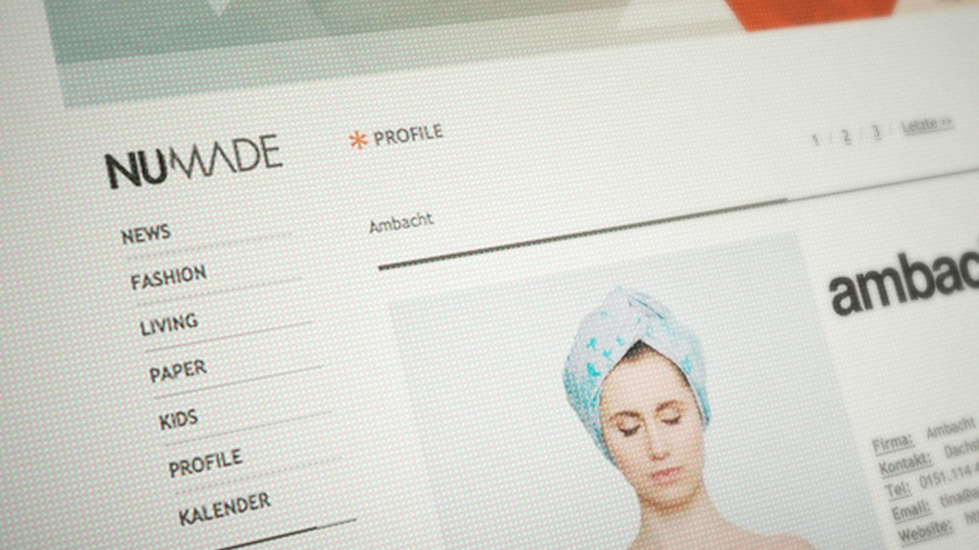 Webdesign Numade