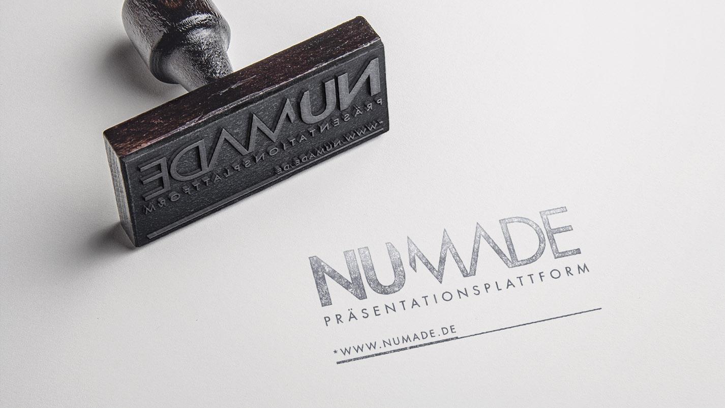 Stempel Numade | Spades Design & Illustration Hannover und Hamburg