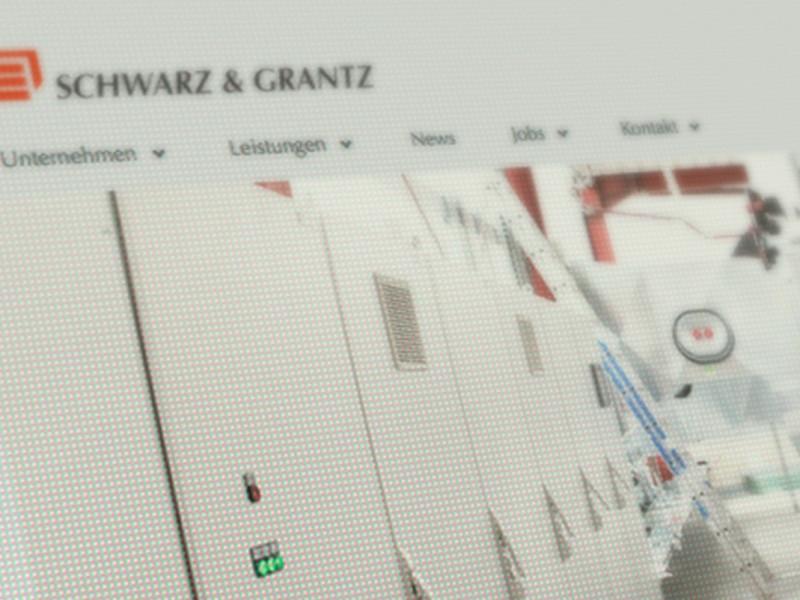 Schwarz & Grantz Webdesign 1