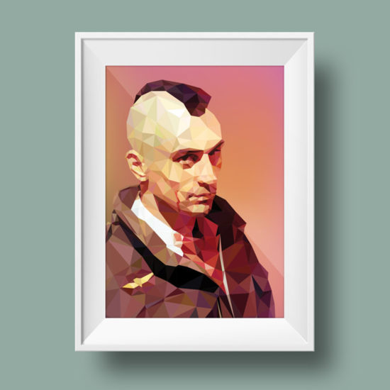 Illustration Taxi Driver